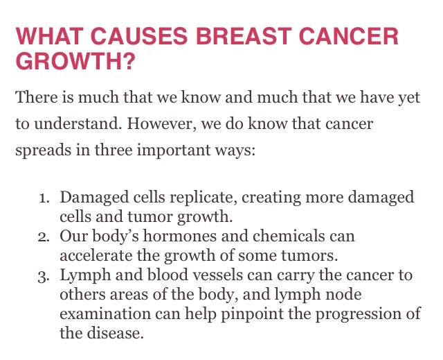 the causes and treatment for breast cancer One of the essential parts of treating disease is understanding the etiology the  most common causes of breast cancer are listed in this article.