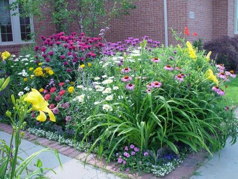 Planting Diagram For Perennial Flower Beds Planting Free
