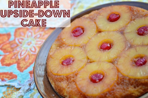 Pineapple Upside Down Cake - a classic skillet recipe that everyone ...