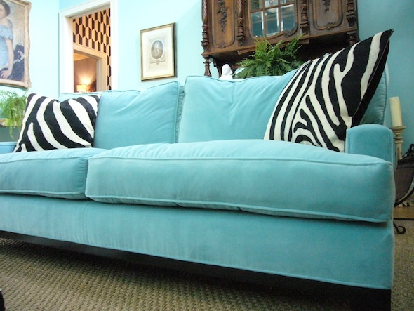 Turquoise Sofa Turquoise Rooms Pinterest