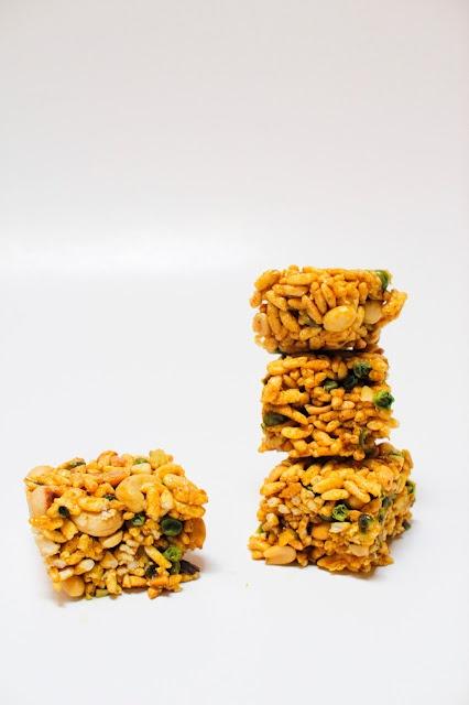 Indian Spiced Krispies | Yum - Desserts | Pinterest