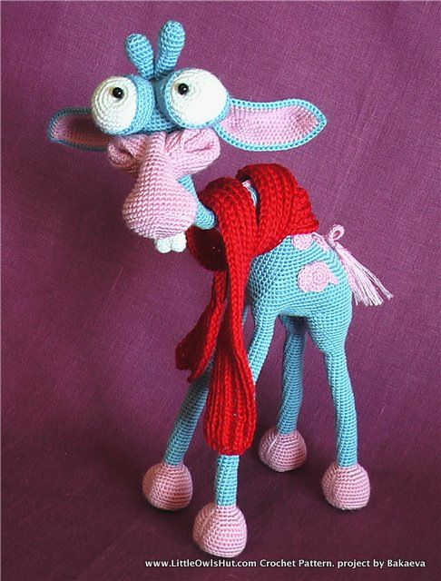 Giraffe George Amigurumi : 005 Giraffe George Amigurumi toy with wire frame Ravelry ...