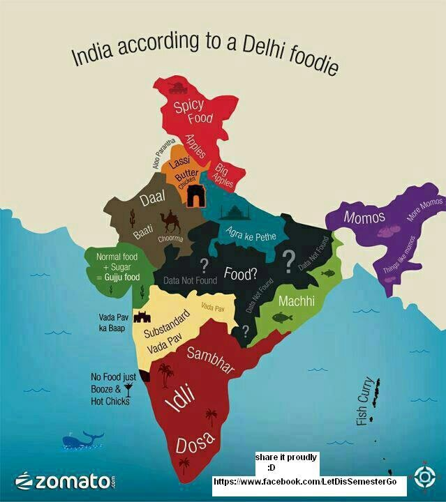 Food map of india indian designs pinterest Cuisines of india
