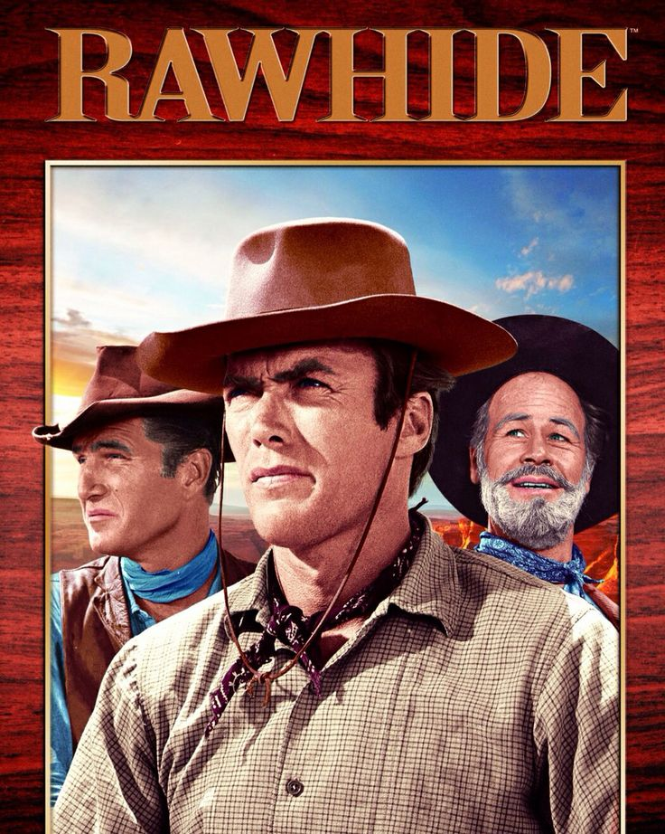 Rawhide tv shows the 1950s pinterest