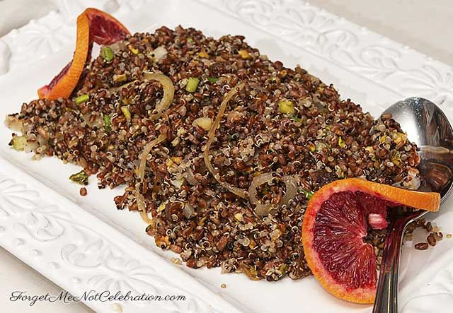 nutty flavor of this Red Rice and Quinoa recipe, from Yotan Ottolenghi ...