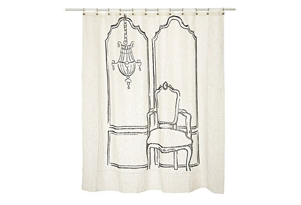 Shower Curtains Beach Scene Sophisticated Shower Curtains