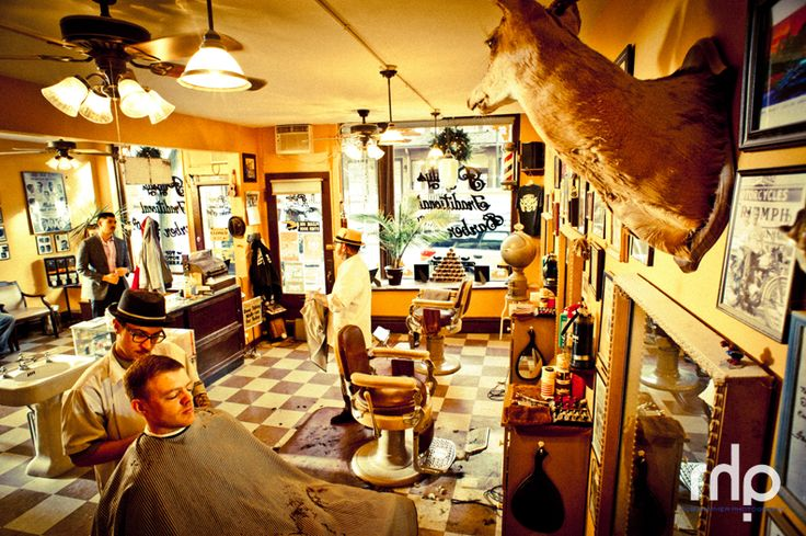 Pugsleys Barber Shop-Kingston, NY. Rob Hammer Photography