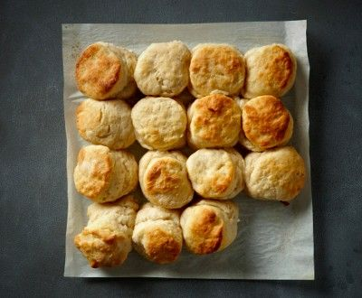 ... making Fresh-from-the-Oven perfectly crusty Buttermilk Biscuits