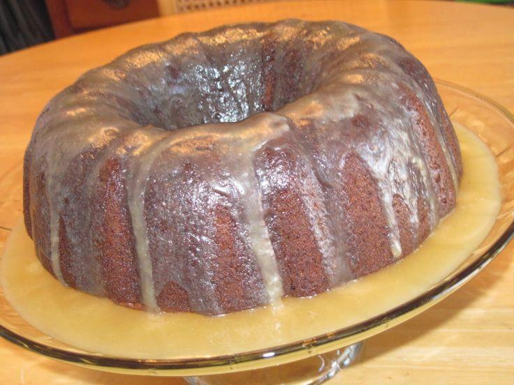 Irish Cream Chocolate Bundt Cake www.GirlGab.com-adjust to be gluten ...