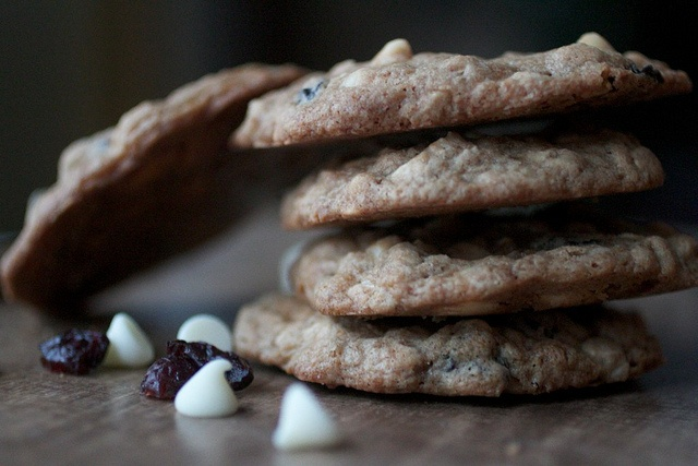 Maple, White Chocolate & Cherry Oatmeal Cookies by Joy the Baker