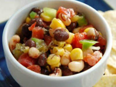 Black Eyed Pea Salsa | SOUPS & SALADS...Veggies and Herbs | Pinterest
