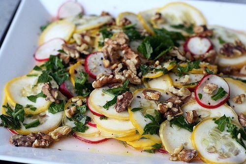 Summer Squash Salad | Superfood Salads | Pinterest
