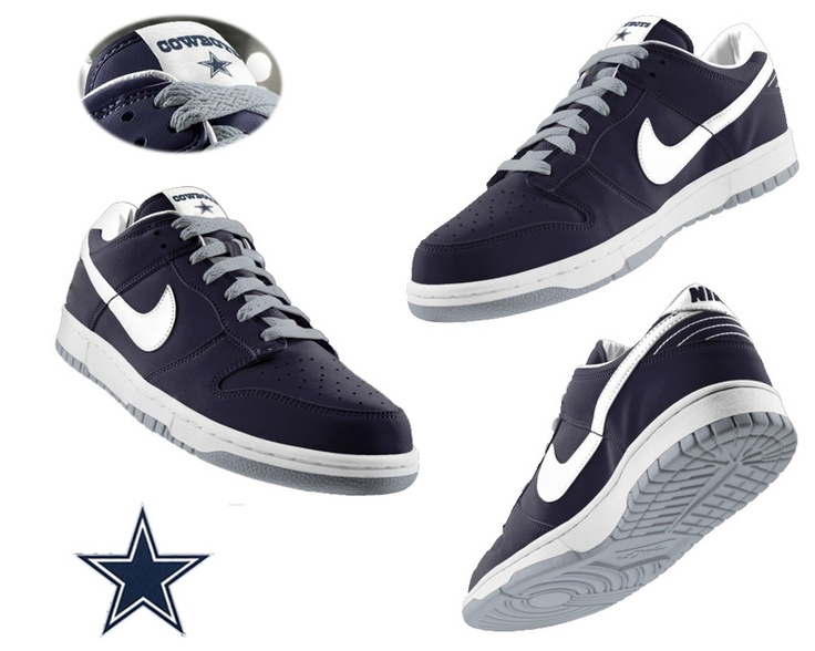 Nike Dallas Cowboys Sneakers Athletic Shoes | Dallas Cowboys