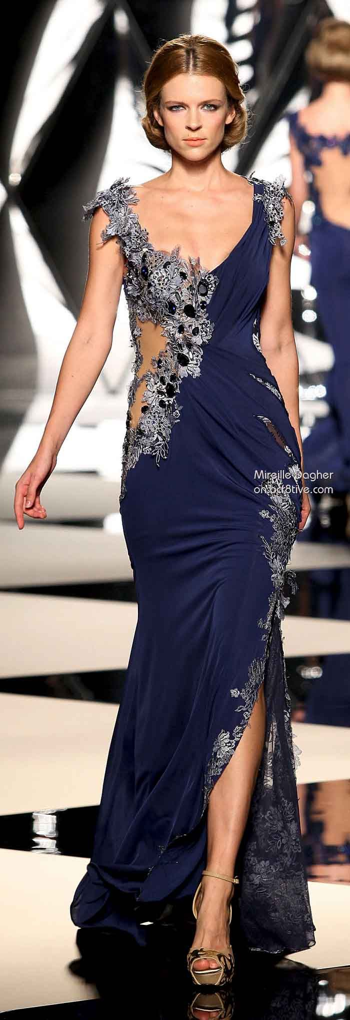 Mireille Dagher Fall Winter 2013-14 Haute Couture