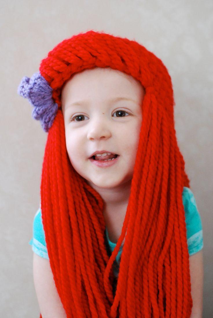 ariel wig toddler 35
