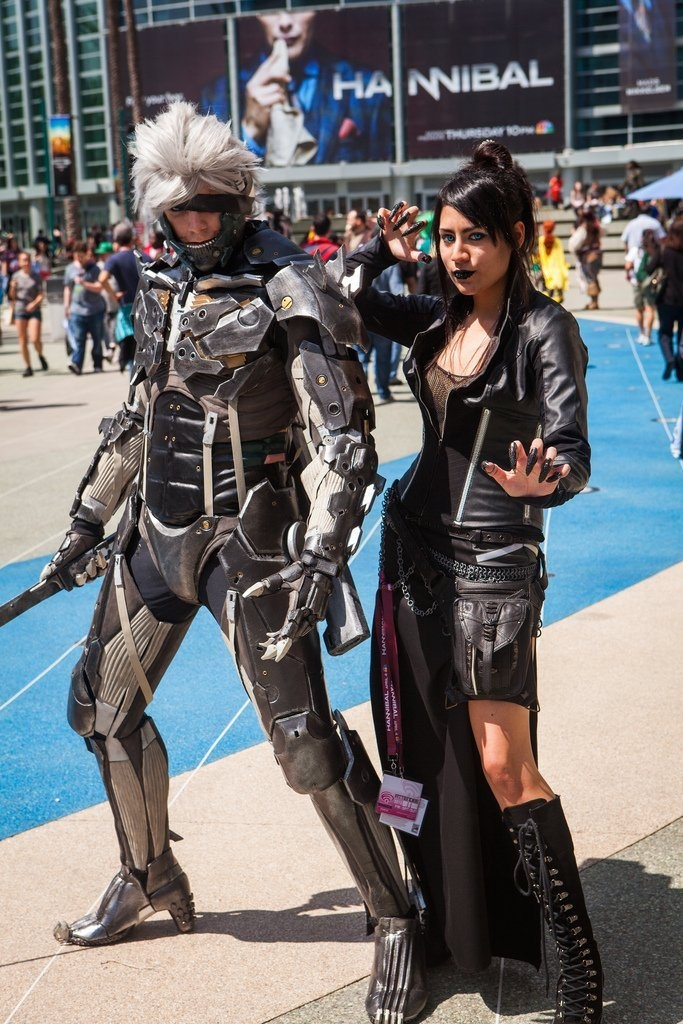 Raiden and Friend – Picture by Mooshuu – WonderCon 2013