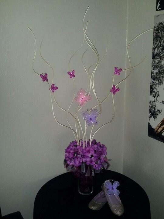 Quinceanera butterfly centerpieces ideas pixshark