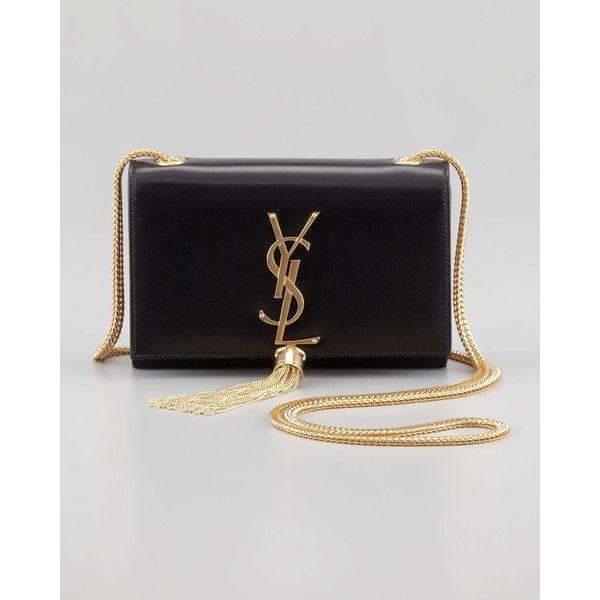 Monogramme leather shoulder bag ysl