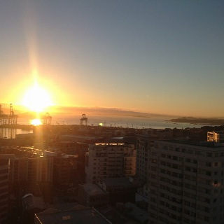 Waking up in auckland