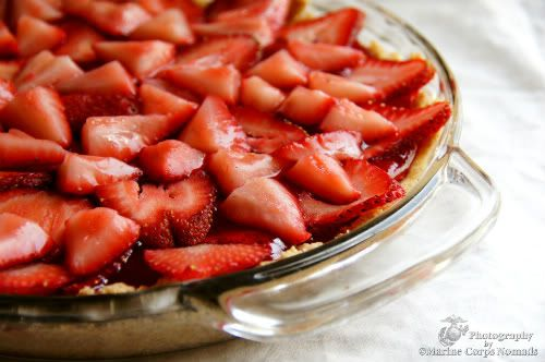 Gluten Free Strawberry Pie with Almond Crust « Marine Corps Nomads
