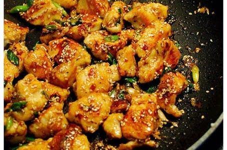 Lighter Sesame Chicken | Dinner is served | Pinterest