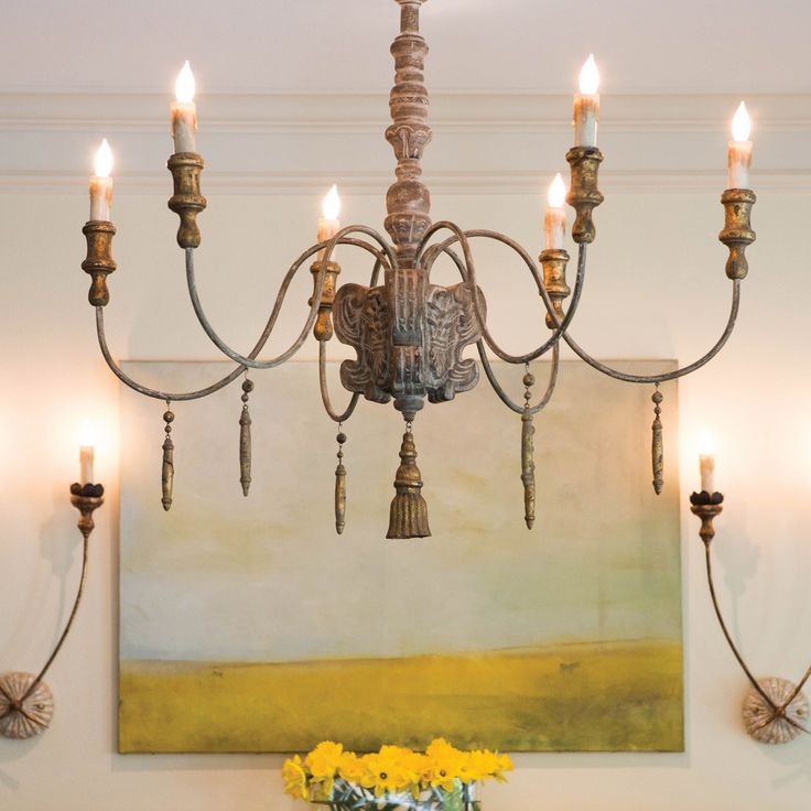 Chandelier and Wall Sconces Home Decor Pinterest