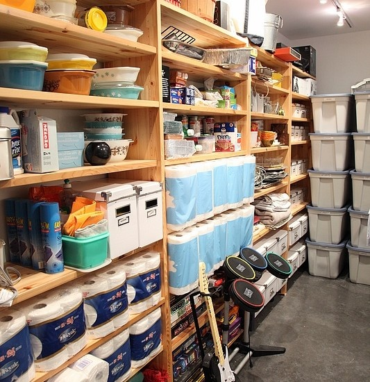 storage basement ideas pinterest