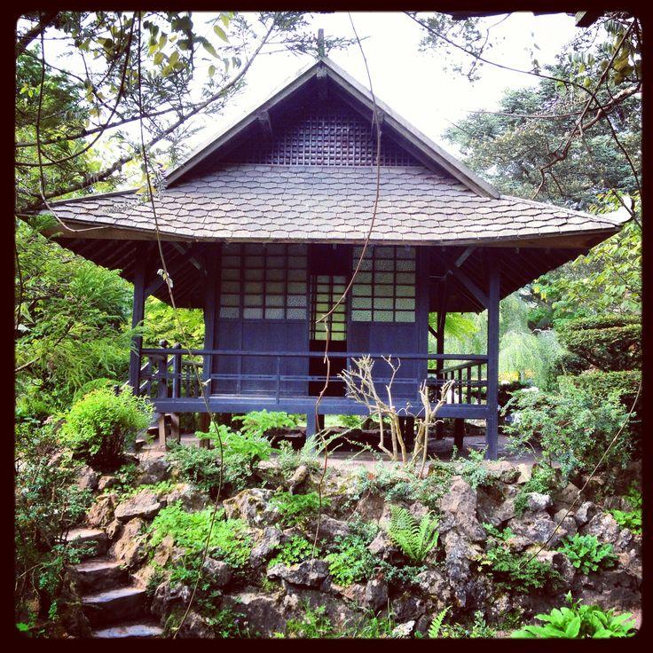 Backyard Japanese Tea House : Tea House, Japanese Garden  Home and Garden  Pinterest