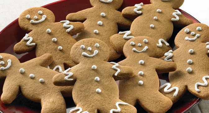 These Gingerbread Men Cookies are as cute as can be. If desired ...