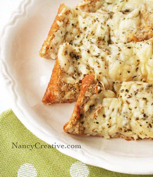 Easy, Cheesy Garlic Bread | Recipes | Pinterest