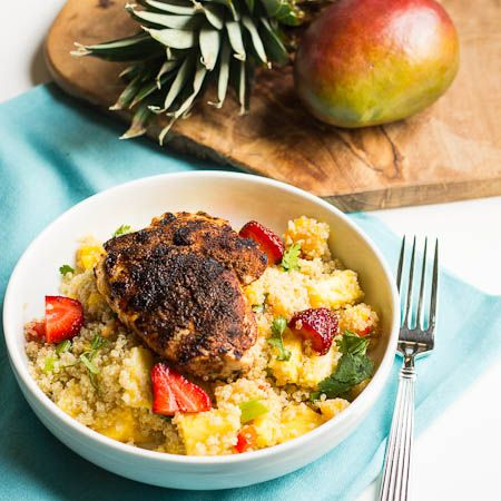 Jerk Chicken with Caribbean Salsa | Recipes and Great Food Ideas | Pi ...