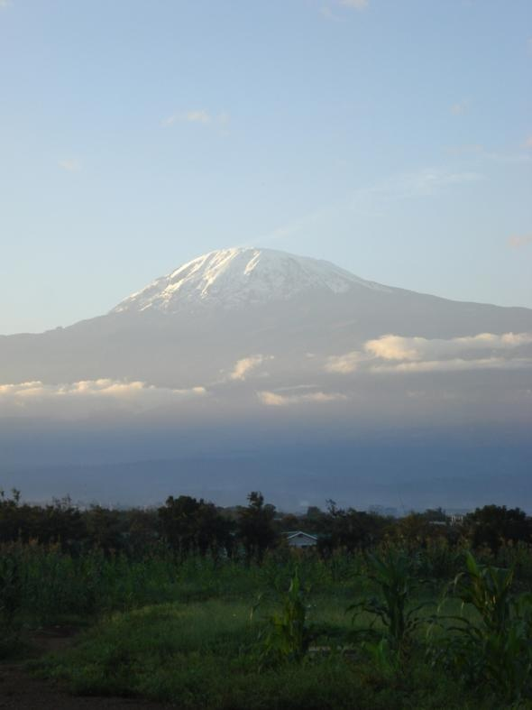 Mount Kilimanjiro, Africa  known highest mountain in world  -actually a dormant volcano