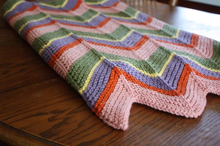 Madalyn Rae Baby Afghan Free Pattern My Knitting ...
