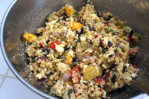 quinoa with roasted vegetables | Recipes: Quinoa | Pinterest
