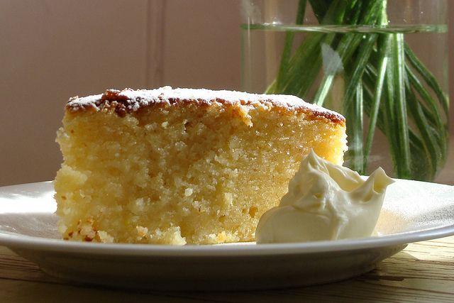 Lemon and Almond Cake | Tea Time | Pinterest