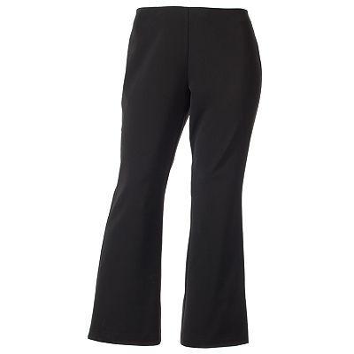 Dana Buchman Pull-On Bootcut Ponte Pants | Stylin' | Pinterest Dana Andrews
