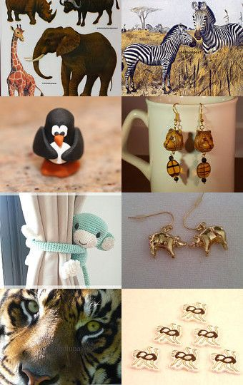 At the Zoo by mama chei on Etsy--Pinned with TreasuryPin.com