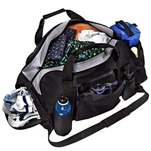 My PERFECT gym bag! FITNESS SAQ fitness club duffel bag with shoe