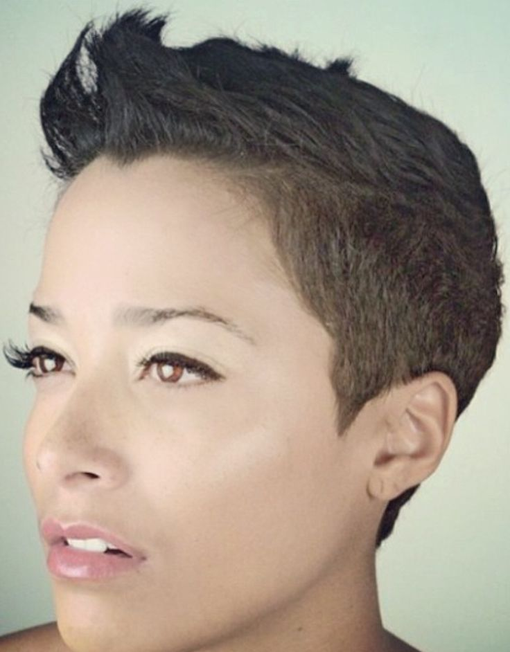 Pixie Haircut Clippered Nape Short Pixie Haircuts   Short Hairstyle ...