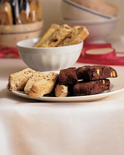 Double Chocolate Pistachio Biscotti - Martha Stewart Recipes