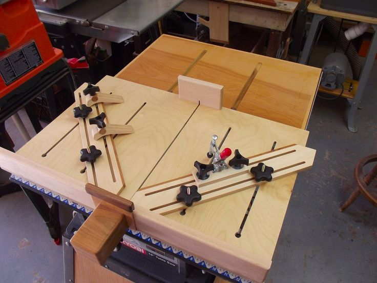 Super cross cut sled table saw pinterest for Table saw sled