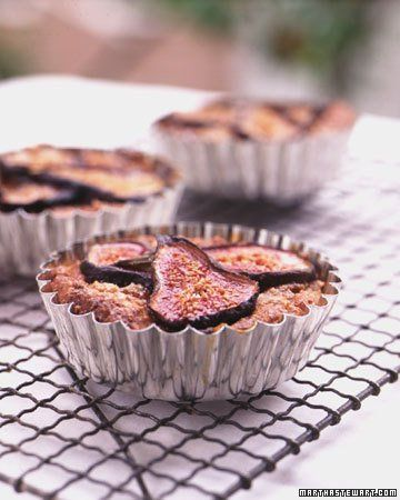 Fig and Hazelnut Tarts delicious just made it