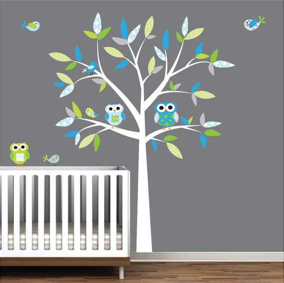 Chaise Cuisine Tanguay : Decal Vinyl Wall Decal Decals Tree Owl by Modernwalls on Etsy, $9900