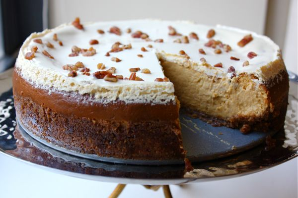 Bourbon Pumpkin Pecan Cheesecake | Cheesecake, and more cheesecake ...