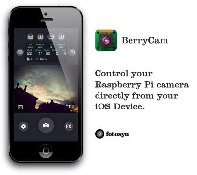 berrycam use your ipad and iphone to control your