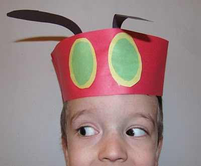 Very Hungry Caterpillar Hats