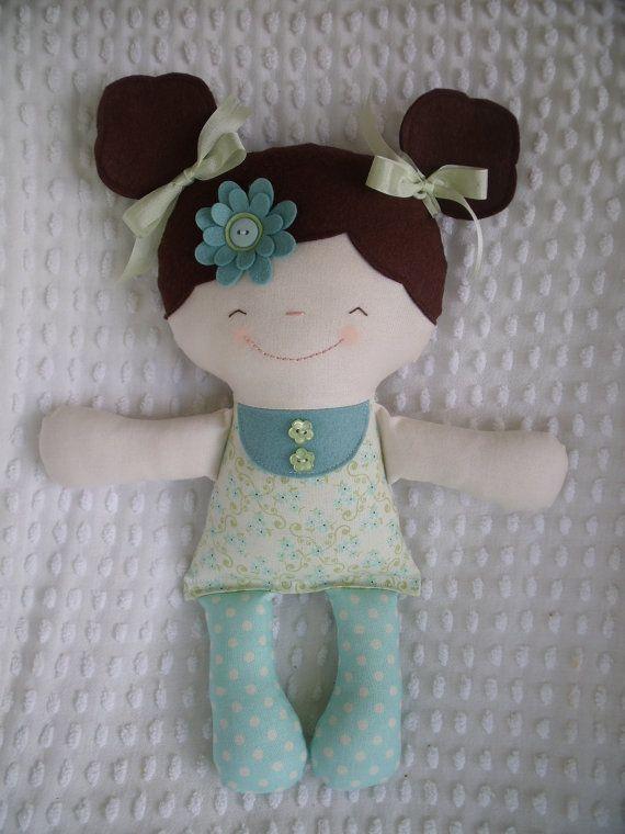 Сладкий куклы ткани