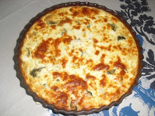 Swiss Chard and Leek Tart | Food to try | Pinterest