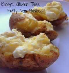 Fluffy New Potatoes | *The Way to My Man's Heart* | Pinterest