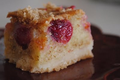 Cherry Brown Butter Bars | Recipes | Pinterest